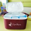 Bolsa Termica Super Mamãe + potes para leite materno